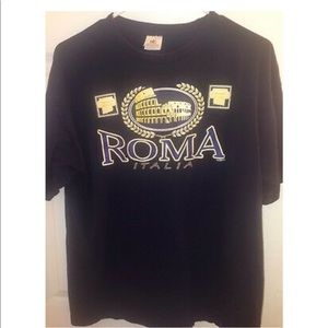 Men's Roma Italia Men's T-Shirt Size Large